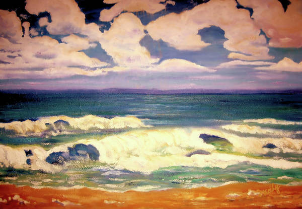 Painting - The Beach  by Valerie Anne Kelly