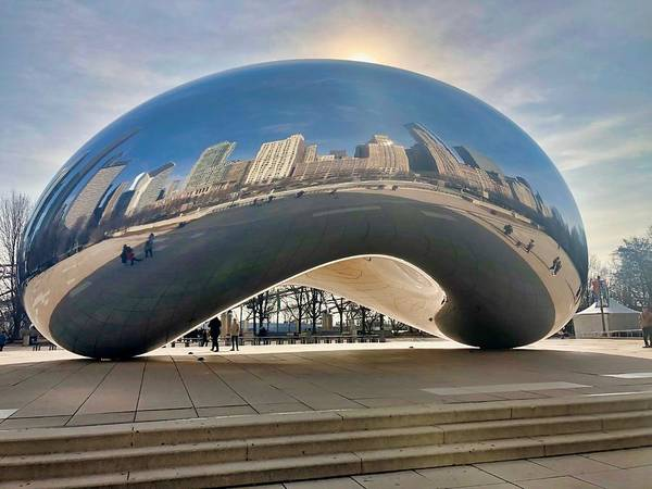 Photograph - The Bean by Brian Eberly