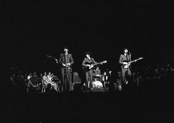 Wall Art - Photograph - The Beatles 1964 Us Tour. British Pop by Popperfoto