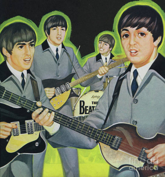 Wall Art - Painting - The Beatles by Angus McBride
