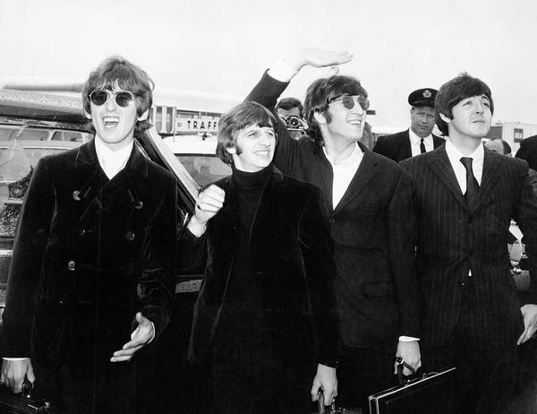 Photograph - The Beatles by Express
