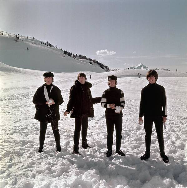 Photograph - The Beatles In Austria by Michael Ochs Archives