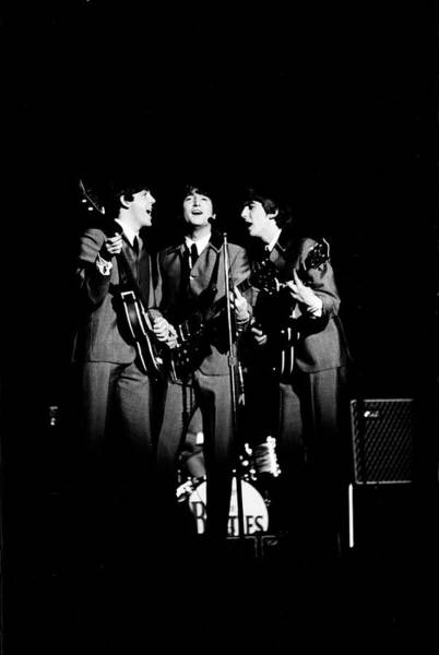 George Harrison Photograph - The Beatles In Concert by Ralph Morse