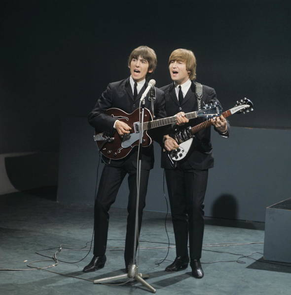 Photograph - The Beatles Perform On Shindig by David Redfern