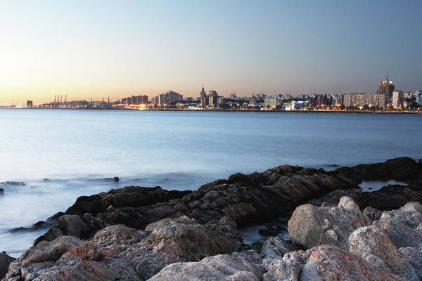 Montevideo Wall Art - Photograph - The Beautiful Coastline Of Montevideo by Lucop