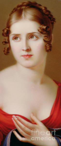 Wall Art - Painting - The Beautiful Greek, Marie Pauline Bonaparte, Princess Borghese by Salomon Counis