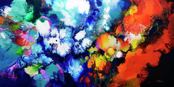 Painting - The Beauty In Contrast by Sally Trace