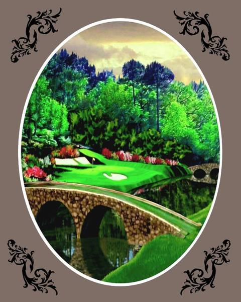 Wall Art - Painting - The Beauty Of The Masters - Oval by Ron Chambers