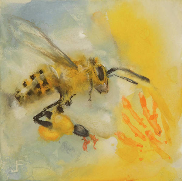 Painting - The Bees Knees by Jani Freimann