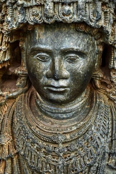 Wall Art - Sculpture - The Bejeweled Guard by Renu Nair