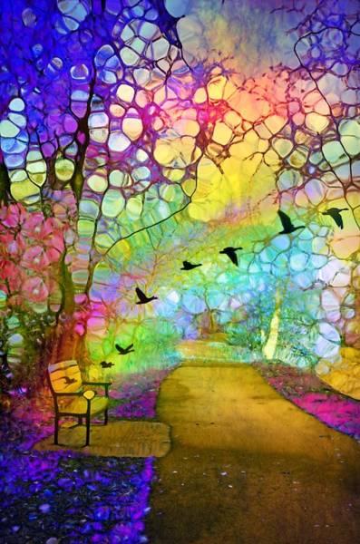 Digital Art - The Bench Of Lost Souls by Tara Turner