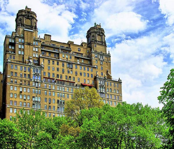 Building Wall Art - Photograph - The Beresford, Central Park West, Manhattan, New York by Zal Latzkovich