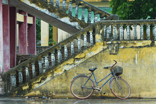 Bicycle Photograph - The Bicycle by Gavriel Jecan