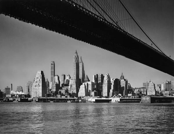 1958 Photograph - The Big Apple by Phil Birchman