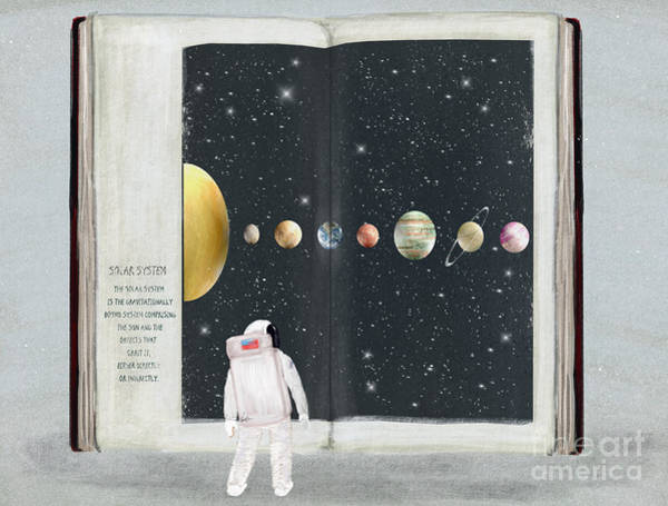 Wall Art - Painting - The Big Book Of Stars by Bri Buckley