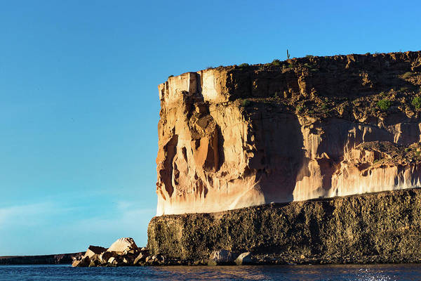 Photograph - The Big Boulder In La Paz by Silvia Marcoschamer