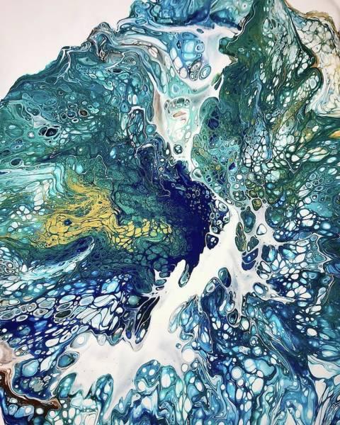 Painting - The Big Splash By Teresa Wilson by Teresa Wilson