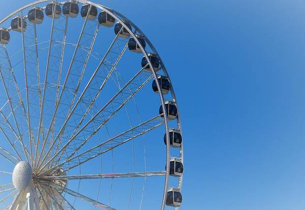 Wall Art - Photograph - The Big Wheel by Lkb Art And Photography