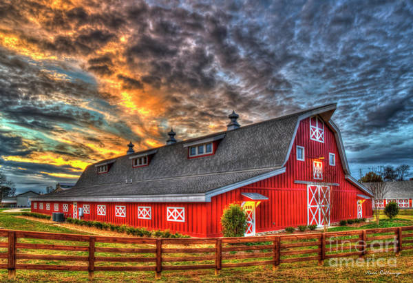 Photograph - The Bigger The Better Oconee County Georgia Farm Landscape Art by Reid Callaway