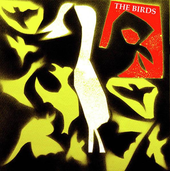 Digital Art - The Birds by Artist Dot
