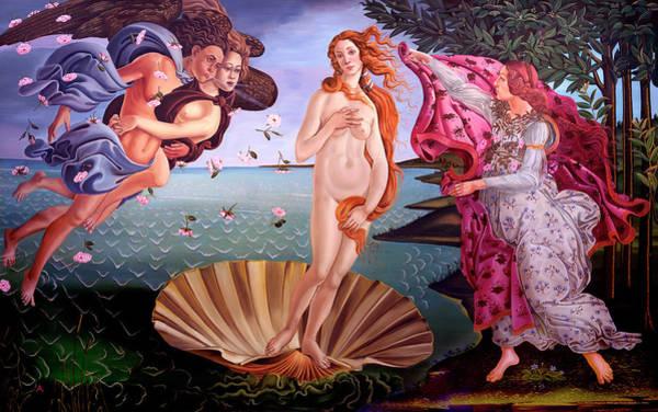 Painting - The Birth Of Venus by David Arrigoni