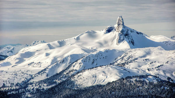 Whistler Photograph - The Black Tusk by Steven Olmstead Photography