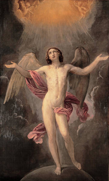 Painting - The Blessed Soul by Guido Reni