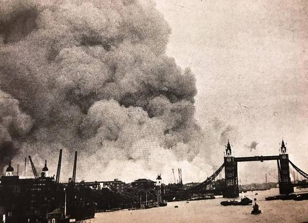 Wall Art - Photograph - The Blitz London by Lord Frederick Lyle Morris - Disabled Veteran
