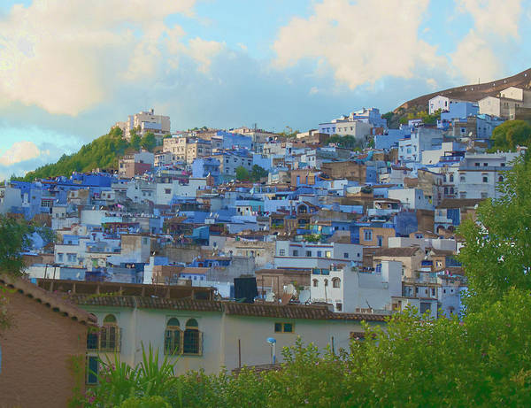 Photograph - The Blue City by Jessica Levant