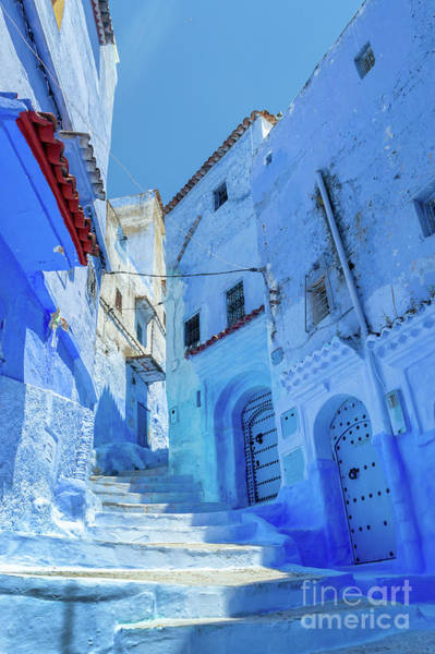 Wall Art - Photograph - The Blue City Of Morocco by Louise Poggianti