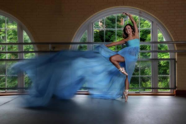 Photograph - The Blue Dress by Dan Friend