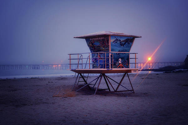 Wall Art - Photograph - The Blue Hour At Avila Beach by Marnie Patchett