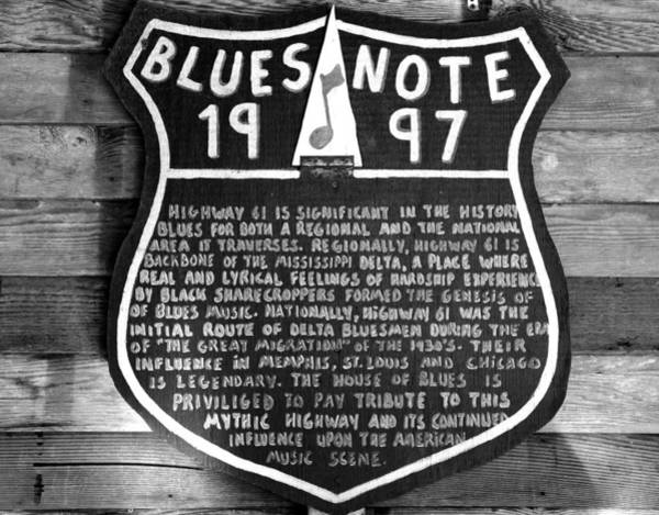Wall Art - Photograph - The Blues And Highway 61 by David Lee Thompson