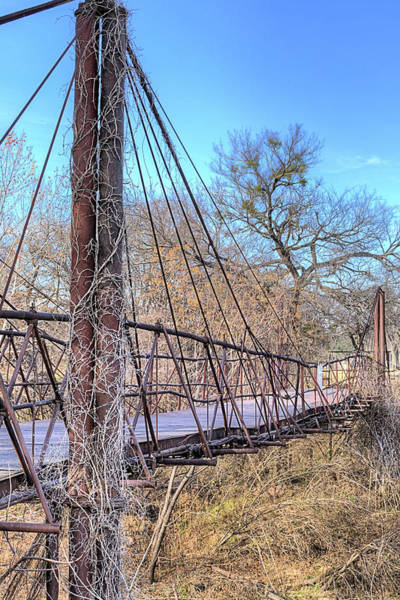 Photograph - The Bluff Dale Bridge by JC Findley