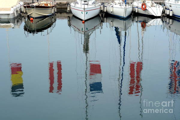 Wall Art - Photograph - The Boat And The Reflection by Liberowolf