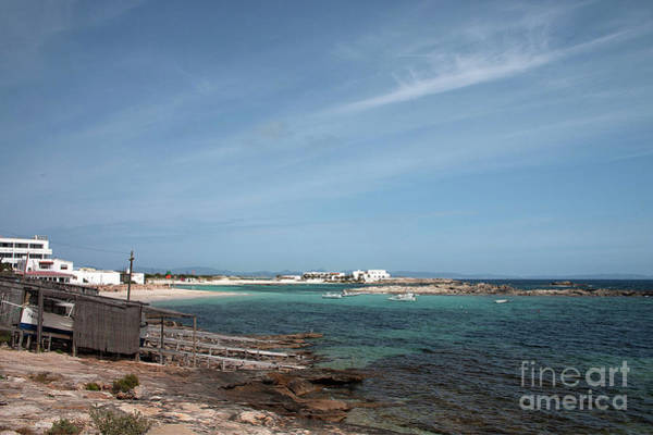 Baleares Photograph - The Boat House And The Bay by John Edwards