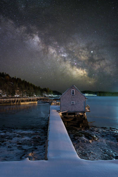 Photograph - The Boathouse by Michael Blanchette