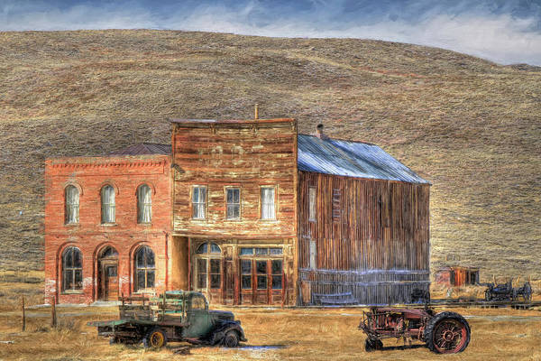 Wall Art - Photograph - The Bodie Odd Fellows Lodge by Donna Kennedy