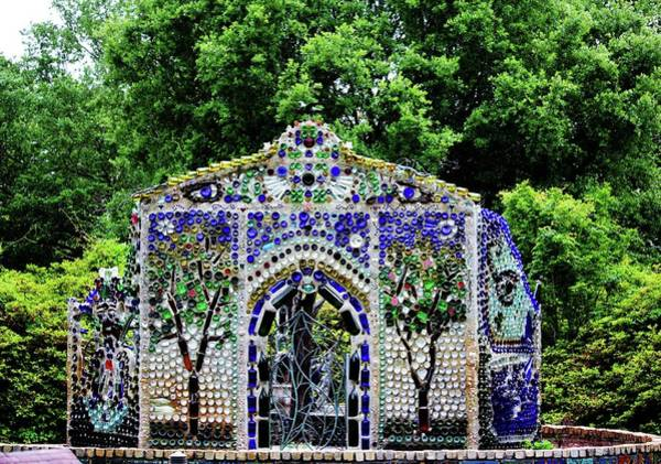 Photograph - The Bottle Chapel by Cynthia Guinn