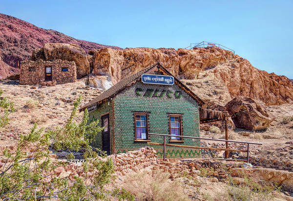 Photograph - The Bottle House At Calico Ghost Town by Floyd Snyder