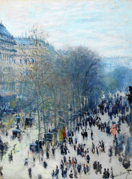 Wall Art - Painting - The Boulevard Des Capucines - Digital Remastered Edition by Claude Monet
