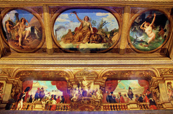 Wall Art - Painting - The Bourbon Palace Peace - Digital Remastered Edition by Horace Vernet