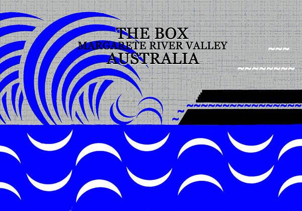 Wall Art - Digital Art - The Box Australia Surfing by David Lee Thompson