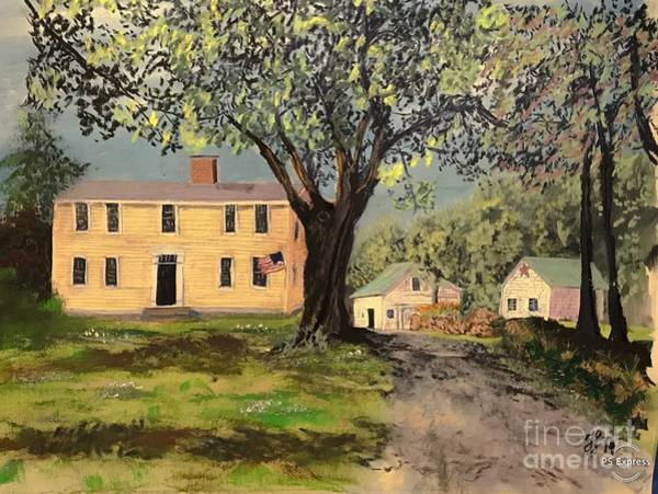 Painting - The Brackett Farm by Francois Lamothe