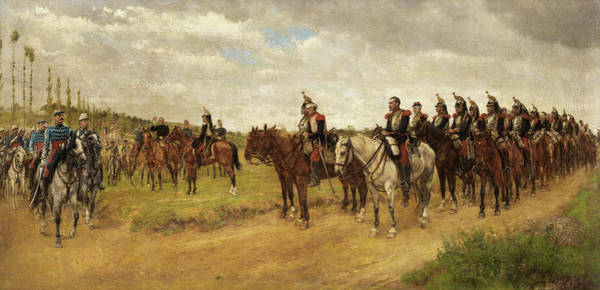 Wall Art - Painting - The Braves People by James Princip Beadle
