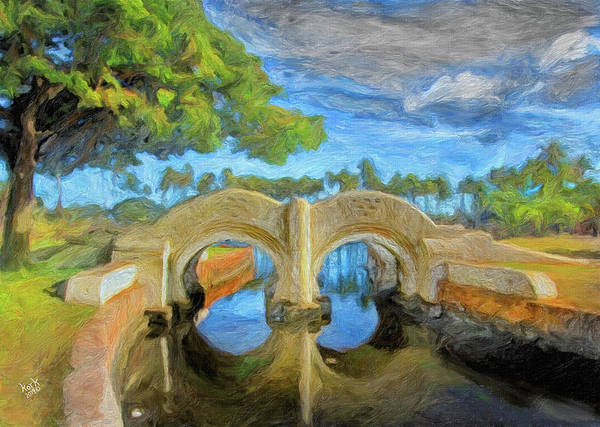 The Bridge At Ala Moana Park Art Print