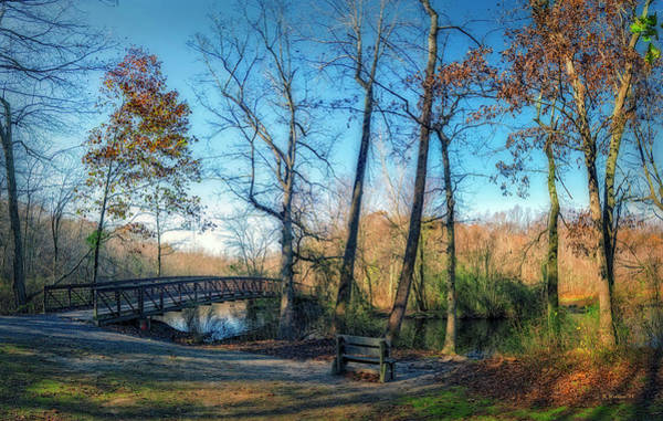 Felton Photograph - The Bridge At Killens Pond by Brian Wallace