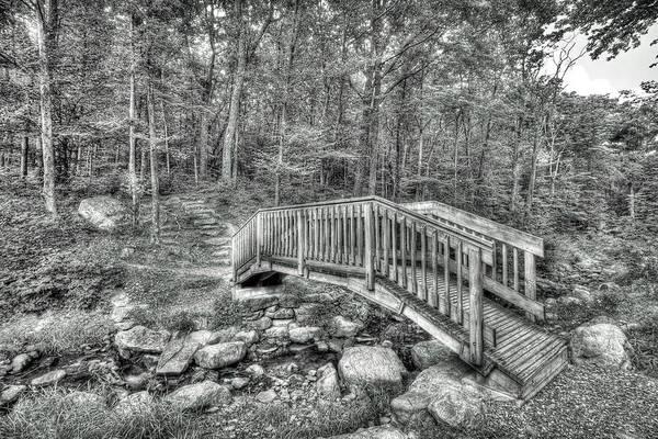 Photograph - The Bridge At Sawmill by Dawn J Benko