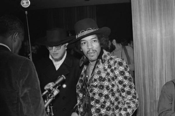 Jimi Hendrix Photograph - The British Are Coming by Michael Ochs Archives