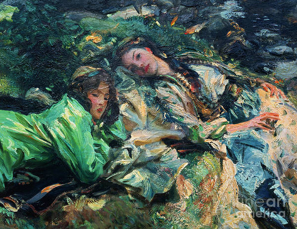 Wall Art - Painting - The Brook by John Singer Sargent
